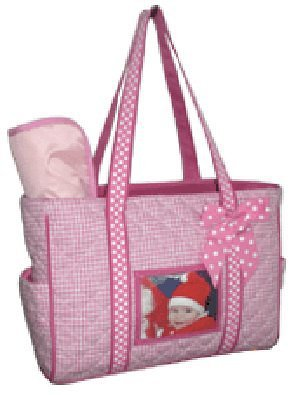Brag Photo Purse Picture Tote Handbag Diaper Bag PINK