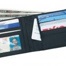 Lot Of 12 Men's Solid Genuine Leather Bi-Fold Wallets Dozen Wholesale Credit