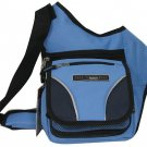 Baby Blue Messenger Sling Body Bag  Purse Small Pack Handbag Free Ship Clutch
