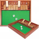 Shut The Box Dice Game 10 Numbers Bar Game New