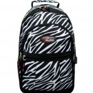 ZEBRA  Backpack School Pack Bag 274 Black White Back Pack Free Shipping Large