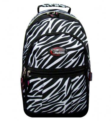 ZEBRA  Backpack School Pack Bag 274 Black White Back Pack Free Shipping Large
