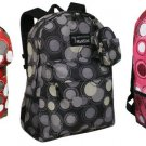 Backpack With Circles  School Pack Bag 205 New COLORS
