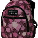 PINK  Circles Backpack School Pack Bag NEW  282SPB
