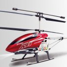 "30"" M1 Skytech Hurricane RC Helicopter 3CH Gyro LED RTF M1 Red Remote Control"