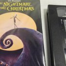 The Nightmare Before Christmas VHS Tape in Original Case Tim Burton Movie
