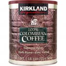 Kirkland Signature™ 100% Colombian Supremo Ground Coffee 3 lb. Can 2-pack 6 LBS