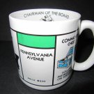 Monopoly Chairman Of The Board 1984 Vintage American Greetings Coffee Mug #41606