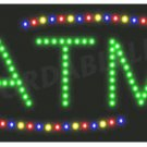 LED ATM  Sign Light New Window Store Animated