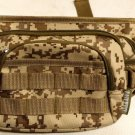 Fanny Pack Tactical Large Tan ACU Digital Waist Hip Belt Bum Bag Pouch Carry On