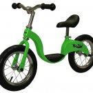 Kazam  Balance Bike GREEN Toddler No Pedals Learn To Ride New Beginner Kids