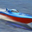 "23"" Balaenoptera Musculus Racing Boat Red Blue High Speed Race Duel Motors"