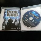 Rock Band (game only)  (Sony Playstation 3, 2007) Complete PS3 FREE SHIPPING