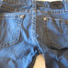 Fearless Jeans Rhinestones On PocketsSize 29 Bootcut Blue Free Shipping