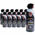 12 XL Cans Dust-Off Compressed Gas Duster 12 oz Falcon