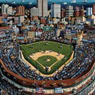 CHICAGO CUBS  500pc 16x20 Jigsaw Puzzle Eric Dowdle Folk Art  Made USA Baseball