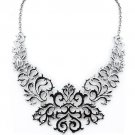 Lace Look Cutout Necklace Fashion Jewelery New Free Shipping