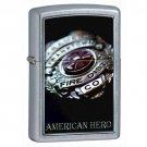 ZIPPO American Hero Firemen Fireman Badge Lighter 852587 Exclusive Free Shipping