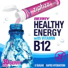 Zipfizz Berry Healthy Energy Drink Mix 30 Tubes B12 No Sugar Hydrate Free Ship