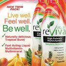 LIQUID reViva Multivitamin Twin Pack 2 X 32 oz Tropical Burst FREE SHIPPING