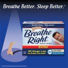 Breathe Right  EXTRA Nasal Strips 88 Tan Strips One Size Free Shipping Snore