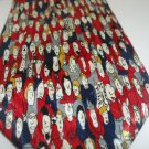 Beverly Hills Polo Club Neck Tie Faces In A Crowd Lost Person Red Blue Humorous