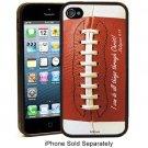 Philippians 4:13 Football  Christian Faith Case 5 Rubber Case Cell Phone Protect