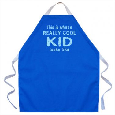 Kids In The Kitchen Apron For Kids Bake Cook Child COOL KID