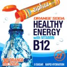 Zipfizz Orange Soda  Healthy Energy Drink Mix 30 Tubes B12 Hydrate No Sugar