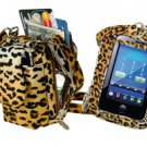 PURSE PLUS TOUCH CHARM14 CELL PHONE CASE LEOPARD Touch-Screen Phones Free Ship
