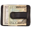 Leather Wallet Money Clip Front Pocket