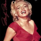 "Marilyn Monroe Red Dress  Fleece Blanket 50"" x 60 Officially Licensed Throw Soft"