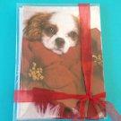 Puppy Christmas Holiday Greeting Cards 10 Pack New Dog Pet Season XMAS Tessa May