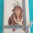 Chihuahua Princess Greeting Cards 10 Pack Dog Pet Thank You Card Animal New