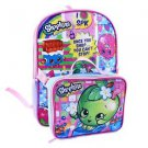 """Shopkins Once You Shop You Cant Stop Girls Backpack & Detachable Lunch Bag 16"""""""