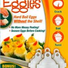 Eggies Hard Boil Egg Cooker 6  with Bonus Egg White Separator As Seen On TV New