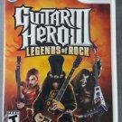 Guitar Hero III: Legends of Rock Nintendo Wii Video Game Activision Rock & Roll