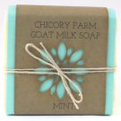 Goat Milk Soap MINT Chicory Farm Natural Handmade  Old-Fashioned Essential Oil