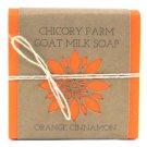 Goat Milk Soap Orange & Cinnamon Chicory Farm Natural Handmade Essential Oil