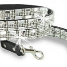 Rhinestone and Gem Accented Pet Leash Dog Bling Bling Sparkling Lead Puppy BLK