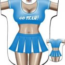 Cheerleader Cover Up Sexy Body T Shirt Night Shirt Tee Sleep Cheer Leader