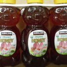Kirkland Signature Organic Honey Bears Lot Of 3 - 1.5 LBS Each Total 4.5 Pounds