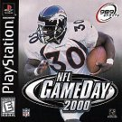 NFL GameDay 2000 (Sony PlayStation 1, 1999) Video Game Football Sports