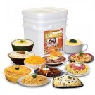 Relief Foods 150 Serving Premium Entrée Only Bucket 1 Month Emergency