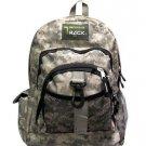 ACU Digital Camoflauge Backpack School Pack Bag Camo TB240 Camping Hiking Day