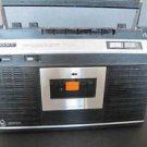 SONY Cassette-Corder Recorder TC-224 & Case  VTG  Boom Box Boombox