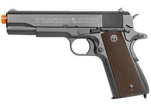 Colt 1911 CO2 Blowback Airsoft Pistol Full Metal Semiauto Blow Back Gas Hand Gun