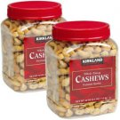 Whole Fancy Cashews Premium 5 Pounds lbs Sealed Healthy Snack Nuts