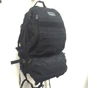 Military Molle Assault Tactical Backpack Black Large Rucksack Backpack TB500