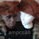 Davey Crockett Coonskin Cap Fake Tail Raccoon Coon Daniel Boone Hat Friendly